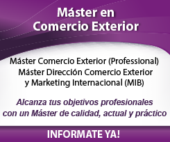 Máster Profesional Operaciones Comercio Exterior